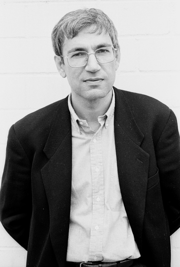 Photograph of Orhan Pamuk by Jerry Bauer