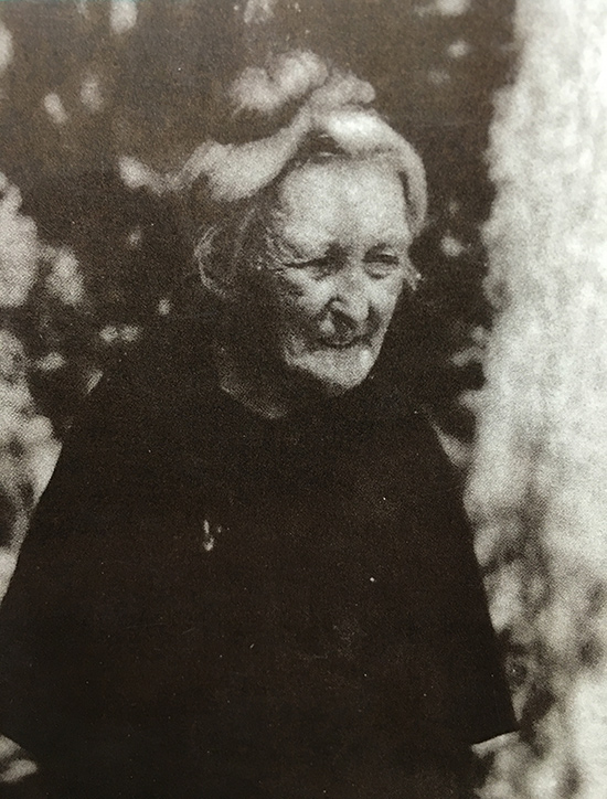 Hamilton in her later years