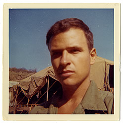 Tim O'Brien during the Vietnam War. Courtesy of the Harry Ransom Center