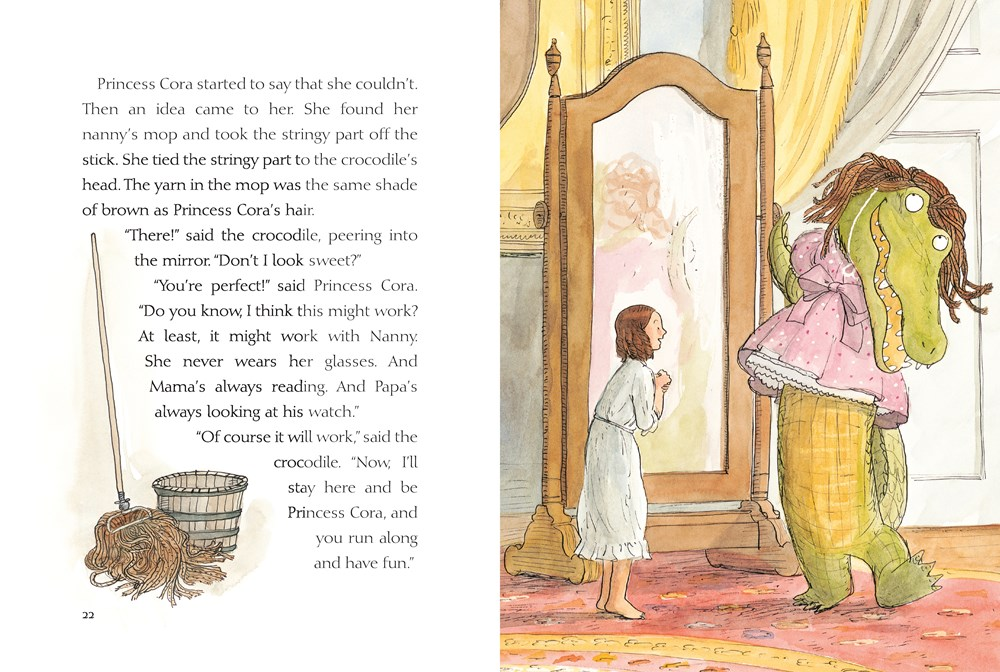 Princess Cora and the Crocodile interior